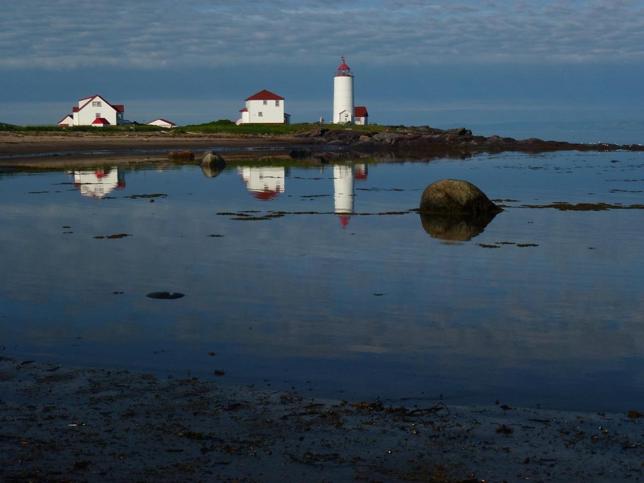 Phare de l'Île Verte (réflexion)